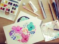 Works of Art, Inspiration, Tips, Palettes, Resources