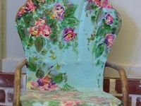 I love the idea of giving new life to old furniture by painting it.