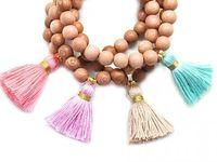 Handmade bracelet and necklace