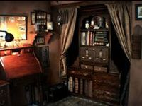 Rooms and furnishings in the Steampunk style