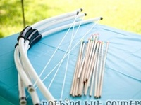Craft Upcycled PVC Pipe