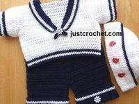 Crochet Baby Boy Things