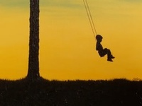 there is something about a swing that takes me back to childhood. they represent relaxation, fun and family.