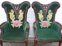 furniture and objects for an antique home
