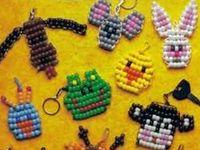 Perlenfiguren zum fädeln