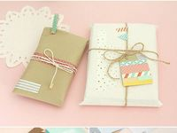Boxes & Envelopes & Wrapping & Package & Bags & Tags