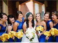 Some yellow and blue colour scheme wedding inspiration // Sanshine Photography - Unique Portrait and Wedding Photography in London and Hertfordshire // www.sanshinephotography.com