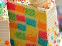 Cakes - Tasty ombré and rainbow