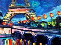 Paris in Paint