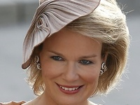 As of July 21, 2013, Princess Mathilde of Belgium, Duchess of Brabant, is now Belgium-born Queen Mathilde.