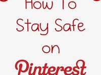 Warnings, rules, tips on how to use Pinterest.