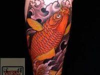 Koi fish tattos
