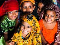 Children around the world.