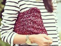 Stripes & Pockets & Glitter