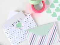 Washi Tape Stationary Ideas: Notebooks, Pens, Clips, Envelopes and More