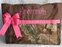 Our favorite pink camo diaper bag options!
