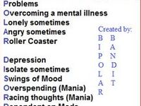 This is a combination of all of my other boards that deal with bipolar disorder. The other boards are more specific and I suggest you look at how they organized as it will probably better to find what you need.  My blog: http://bipolarbandit.wordpress.com/  #bipolar #bipolardisorder