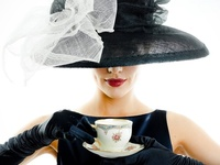 A woman is like a tea bag - you can't tell how strong she is until you put her in hot water ~  Eleanor Roosevelt