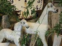 Folk Art Horses...