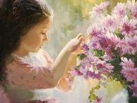 Flowers & Gardens in Art