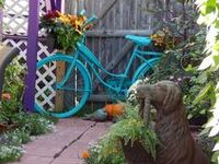 """A garden bicycle has always been on my """"wants"""" list!"""