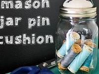 A collection of creative ways to use jars, many DIY and inspirational.