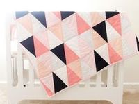 With a recent resurgence in popularity, quilts are a beautiful addition to any home. Here I've pinned quilts that are modern and fresh as inspiration.
