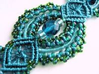 Micro Macrame jewelry patterns, tutorials and inspiration pieces.