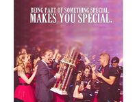 Being a part of something special makes you special