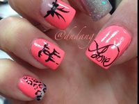 Makeup hair nails