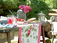 lovely ideas for garden parties at the vintage house...