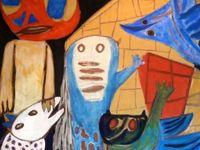 Né à Smilovitchi en Biélorussie (1893-1943), cet artiste juif à développé son propre expressionnisme avec sa technique de peinture très particulière. Bien qu'il ait évolué dans le Paris du cubisme et du surréalisme, il a toujours montré un intérêt marqué pour le figuratif. Traqué par la Gestapo, il mourut à 49 ans d 'un ulcère à l'estomac.