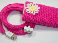 Some of these are ideas for my daughter.  #Crochet #cell phone #cover #cozy #computer