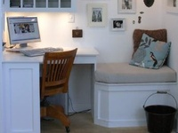 Efficiency in Small Spaces and Organization tips.