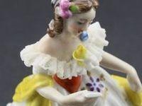 Dresden & Porcelin Figurines