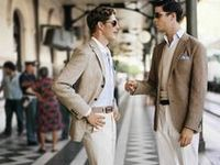 Suites and shoes for Gatsby Men