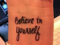 Tattoo ideas. I love simple ones.
