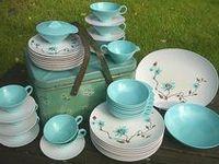 Retro...Dishes,Tablewares,Linens