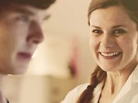 My very good friend and fiancé, Molly Hooper. She most certainly counts.