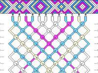 Patterns for making friendshipbracelets