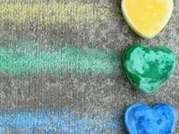 Ideas for using chalk with kids at home or in the classroom for learning, art, and fun!