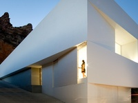 Houses and buildings. Mostly contemporary architecture. Clean lines and pure materials.