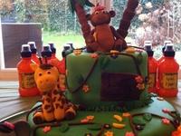 taart en cupcakes jungle