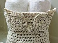 Crochet para baño