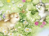 ~**SPRING IS PAINTED IN PASTELS~** illustations