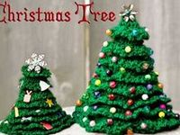 Variety of Christmas trees