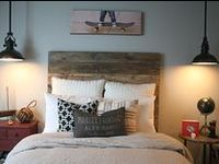 Teen boy rooms are hard.  For some reason I'm stuck on affordable, nice looking headboards, but I'll keep looking.