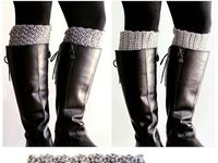 Crochet/Knit (Boot Cuffs/Leg Warmers)