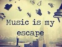Escape...music, movies, books