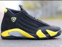 Authentic Thunder 14s for sale now! You can get Jordan 14 Thunder with high quality and unique designs.Take action! http://www.redsunkicks.com